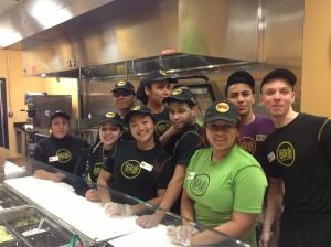 Crew at Mo's